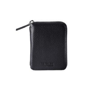 Portemonnaie Wallet Compact Tasche Unisex Rindsleder Business Handtasche Clutch ChiChiFan Mode Accessoire Chapeau Marén Hamburg Hafencity Elbphilharmonie