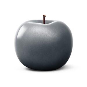 Designobkjekt Apfel anthrazit Keramik handgefertigt Unikat Lisa Pappon Chapeau Marén Hamburg Hafencity Elbphilharmonie