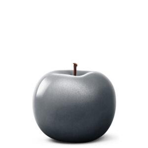 Designobjekt Apfel anthrazit Keramik lasiert glänzend handgefertigt Wohnaccessoire Dekoration Chapeau Marén Hamburg Hafencity Elbphilharmonie