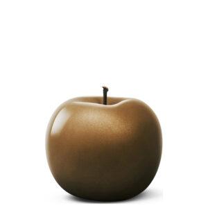 Designobjekt Apfel bronze Keramik lasiert glänzend handgefertigt Wohnaccessoire Dekoration Chapeau Marén Hamburg Hafencity Elbphilharmonie