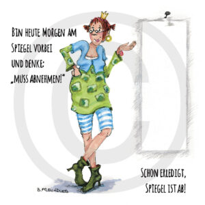 Holzbild Illustration Humor Kreativ Geschenk Wohnaccessoire Dekoration Chapeau Marén Hamburg Hafencity