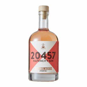 Hafencity Gin Barrel Aged Porto Limited Edition Portwein Zwetschgen Kakao Haselnuss London Dry Gin Spirit Chapeau Marén Hamburg Elbphilharmonie